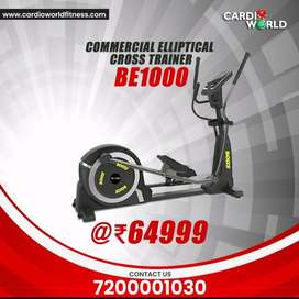 Grab the New year offer on Commercial Ellipticals with 160 kg user wt