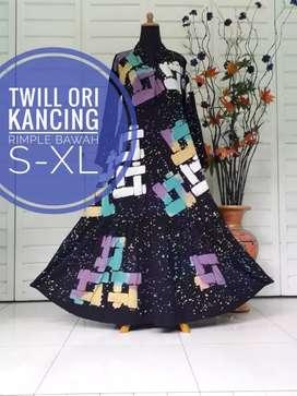 Gamis batik best seller