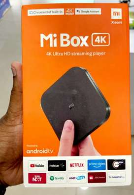 Mi LATEST ANDROID 4K BOX sealed with warranty