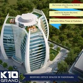 Cafe space for sale in very Prime Location of Vadodara- K10 Grand