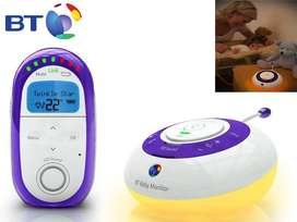 BT DECT Digital HD Sound Baby Monitor 250 Like Avent Tommee