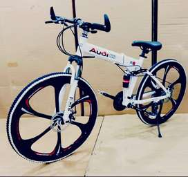 NEW AUDI,MERCEDES BENZ ,BMW 21 GEARS FOLDABLE CYCLE