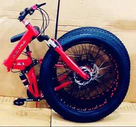 Dzire 21 gear folding.  Cycle available. (Only new cycle)