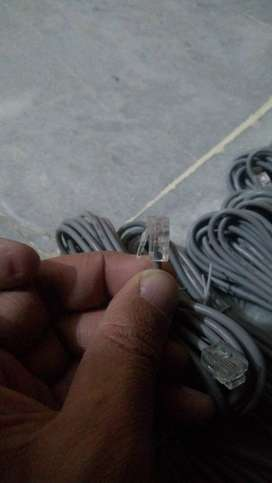 Internet Cable Rj 11 For Sale 20*4 meter