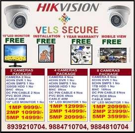 CCTV CAMERA HIKVISION OFFER SALE IN PORUR CHENNAI FREE FREE F