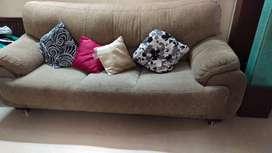 Luxarious 3 + 1 + 1 seat Sofa set