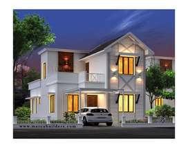 3bhk villas with all amenities@chelavoor