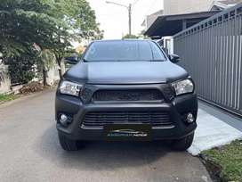 Toyota Hilux V Diesel 4x4 DC Hitam Metalik 2020 SEPERTI BARU
