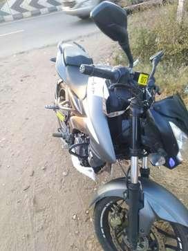 A gud exlaned bike NS200