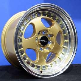 velg type BURN H1569 HSR Ring.15 Lebar.7-8,5 PCD.4X100-4X114,3 ET.35-2