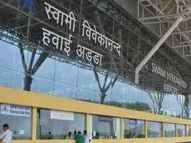 airport jobs available in Raipur airport