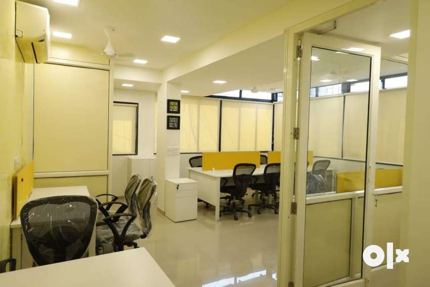 775 sqft Well Furnished Office For Rent on CG Road 0