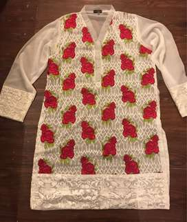 Agha noor shirt in size medium