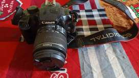 Canon 1000 d sell wih charger bag