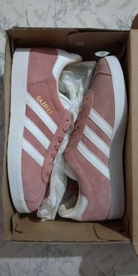 Adidas Gazelle (Women) - Pink Colour, [US 5 1/2] [UK 4].