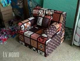 Sofabed inoac,produk mantul,harga hemat (200x90x20cm)