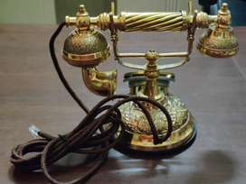Vintage Collection Antique Landline Telephone_VC4 Gold