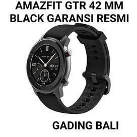Xiaomu Amazfit GTR 42mm Black Garansi Resmi Amoled Screen