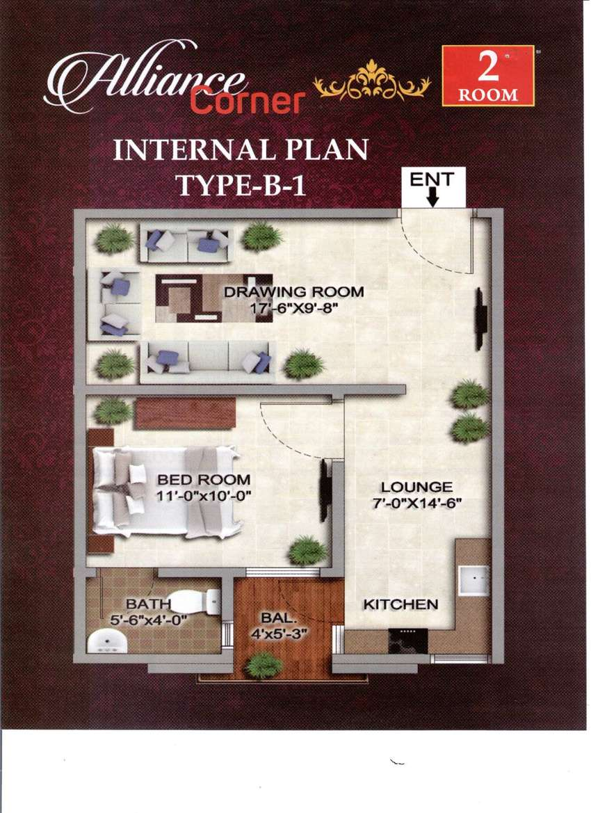 1 Bed Apartment For Sale On Easy Installments 0