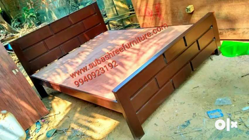 Wooden cot king size and Queen size available 0
