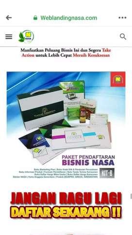 Distributor produk-produk herbal NASA