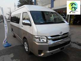 toyota hiace  ka koi b model hasil kren Easy Monthly installments pe..