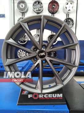 Velg mobil racing Crv R19 HSR Montana Ring 19 Lubang 5x114,3 Lebar 8,5