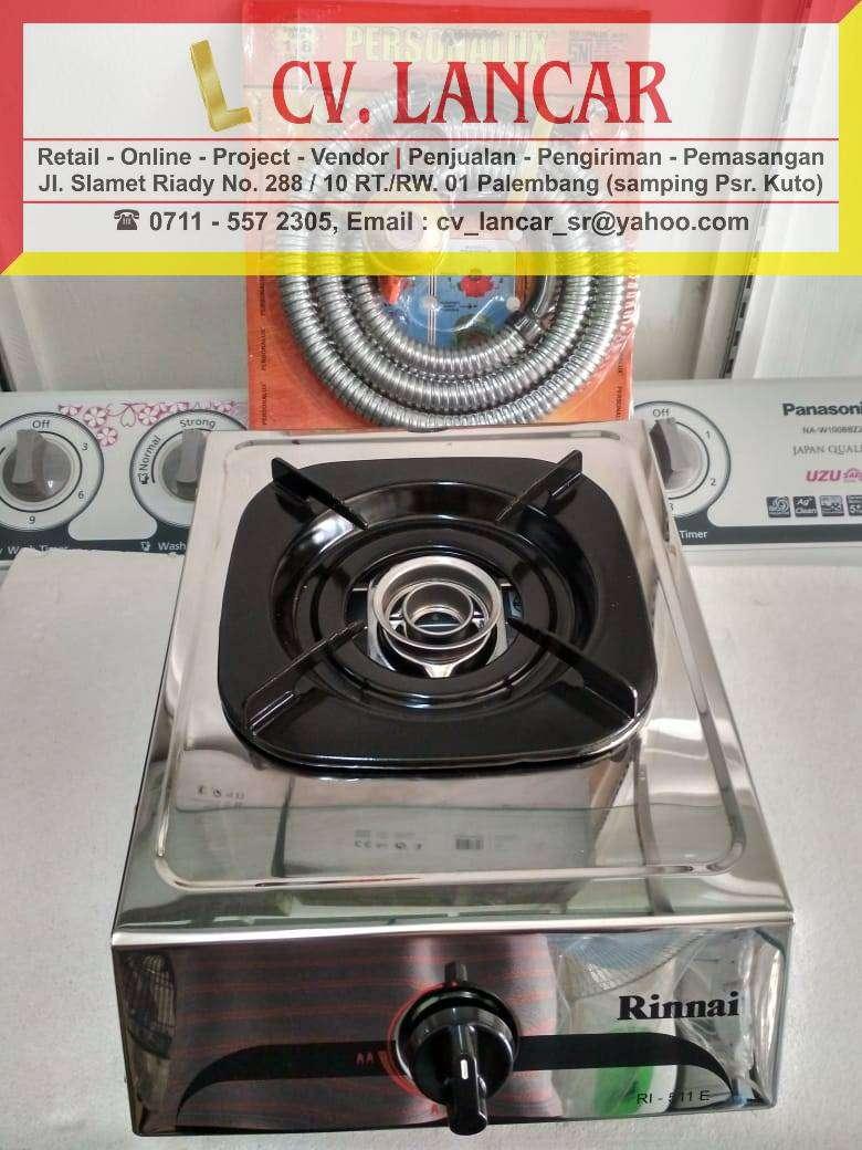 Kompor RINNAI 1Tungku+selang regulator(Free ongkir dan bayar ditempat) 0