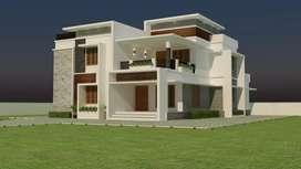 Thrissur arimpur new house 6 cent.open well