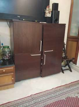 Storage cabinet of size 39 X 16 X 42 inch