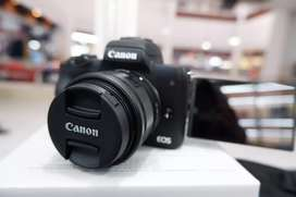 Mirrorles Canon eos M50 BISA KREDIT ACC LANGSUNG BAWA PULANG