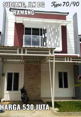 Rumah Murah 2 Lantai dekat Bandara Hasanuddin, POLDA, Pasar Daya