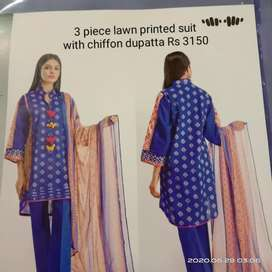 Khaadi original suits available on discounted price's
