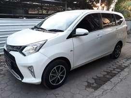 Toyota Calya G 2017 putih mulus