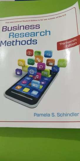 Buku Original Business Research Methods 13th Edition Pamela Schindler