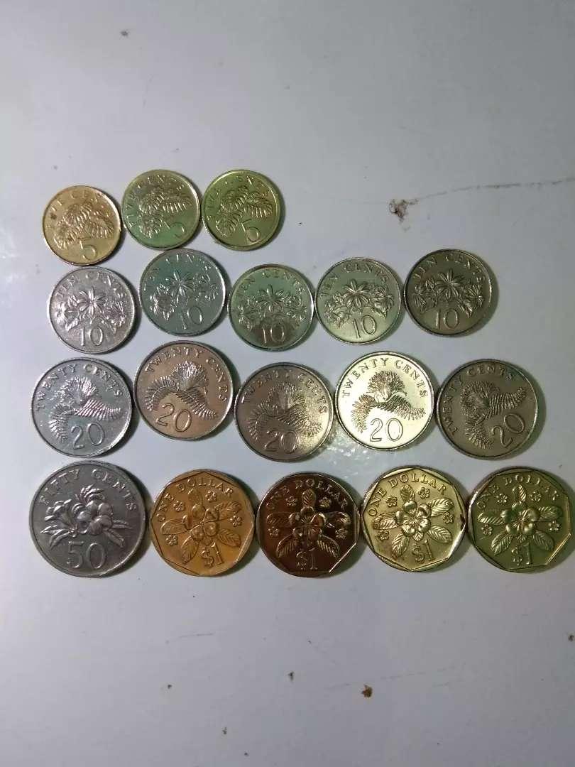 Dijual uang kuno singapura 0