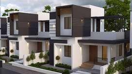 Design your DREAM HOME - 800sqft 2BHK Villa