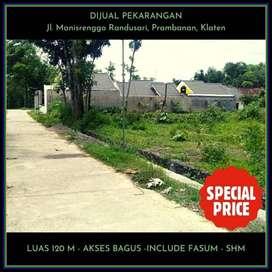 MURAH: Prambanan Village Dekat Candi Plaosan 1 Juta an