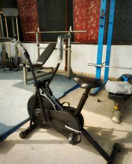 Home stationary Exercise cycle gym workout fitness fat loss
