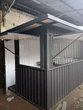 BOOTH SEMI CONTAINER FOODCOURT CONTAINER COFFE SHOP CONTAINER