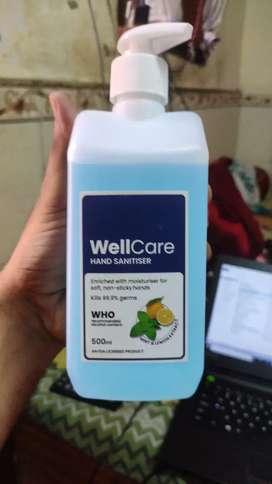 Wellcare hand sanitizer