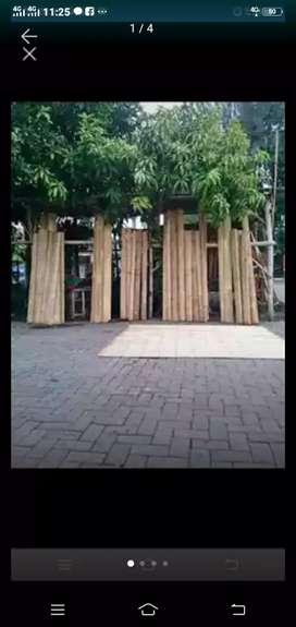 Jual tirai bambu bukan tirai aren