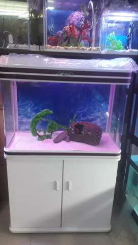"Sobo 80l 30"" fish tank with cabinet"
