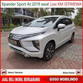 Xpander Sport at 2019 awal KM 20rb ANTIK Kredit Murah