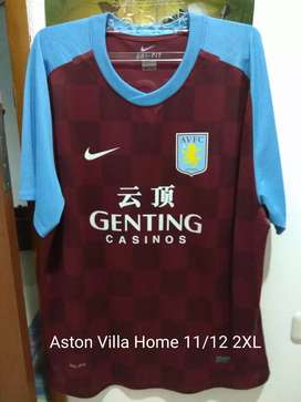 Jersey Original Aston Villa Home 11/12 #12 ALBRIGHTON