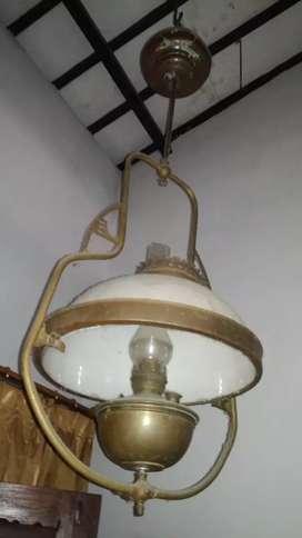 Lampu Kuningan dari gaspom dirubah minyak