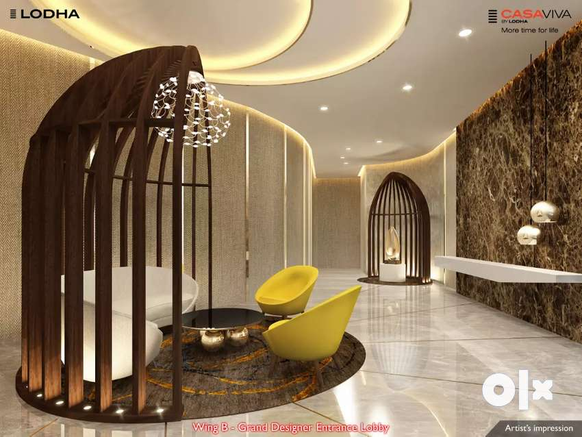 Spacious 2bhk with 700sqft carpet with iskon Temple 0