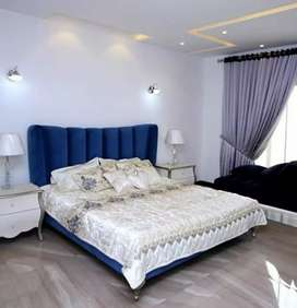 Furnish 10 Marla house upper portion 3 bedroom available rent ph 4