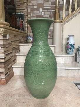 guci keramik besar retak seribu antik 90 cm