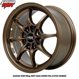 Velg Mobil Racing tipe SADAU HSR Ring15X7 (Calya Yaris Sigra Dll)